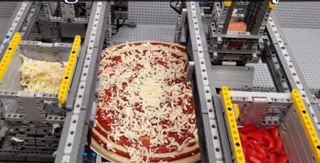 LEGO Pizza Fabriek