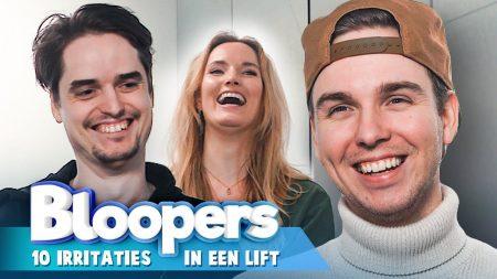 Team Dylan Haegens – Fliep Flap In De Lift! – Irritaties In Een Lift Blooper Video