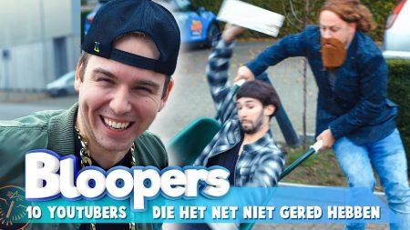 Team Dylan Haegens – Youtubers Die Het Net Niet Gered Hebben Bloopers!