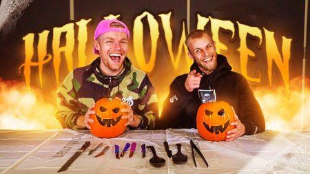 Enzo Knol – Halloween Pompoen Maken Met Milan Knol ? #2639