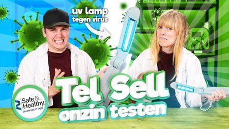 Team Dylan Haegens – Virussen En Bacteriën Verwijderen Met Een Lamp?! – Tel Sell Onzin Testen #16