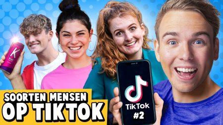 Dylan Haegens – 10 Soorten Mensen Op TikTok! 2.0