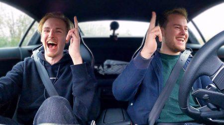 Royalistiq – De Bankzitters Zingen Mee In de Audi R8! ?