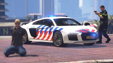 Royalistiq – Als Politie Op Pad Met De Audi R8! – Nederlandse Politie #82 (LSPDFR)