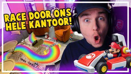 Dylan Haegens Gaming – Mario Kart Race Door Ons Kantoor 2.0!