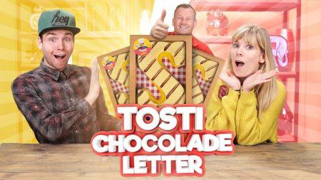 Team Dylan Haegens – Wij Hebben Onze Eigen Tosti Chocoladeletter!