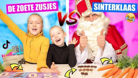 De Zoete Zusjes – Sinterklaas vs De Zoete Zusjes!!!