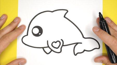 Hoe Teken Je – Een Leuke Dolfijn