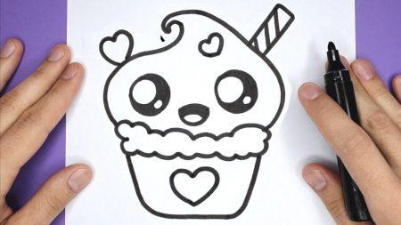 Hoe Teken Je – Een Lekkere Cupcake