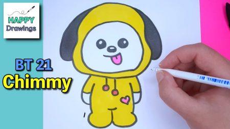 Hoe Teken Je – BT21 Chimmy