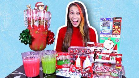 MeisjeDjamila – Mega Kerst Freakshake Challenge! – Fan Friday