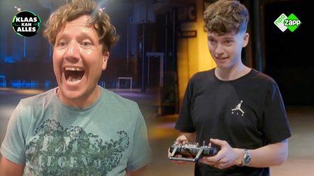 """Klaas Kan Alles – """"Kan Jij Mij Wel Aan?"""" – Kan Klaas Rapper Pjotr Verslaan In Een Duel Met Battle Bots?"""