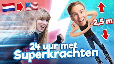Team Dylan Haegens – 24 Uur Leven Met Superkrachten!