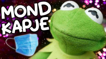 Kermit – Mondkapje (Jingle Bells Parodie) 🎄