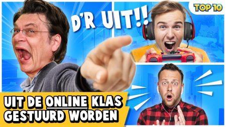 Dylan Haegens – 10 Manieren Om Uit De Online Klas Gestuurd Te Worden!