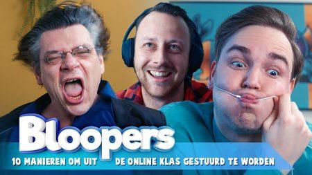 Team Dylan Haegens – Peter Hoefnagels Is Helemaal Gek! – Uit De Online Klas Gestuurd Bloopers