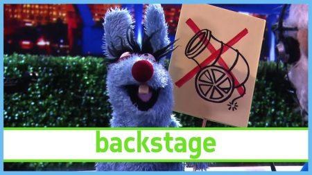 De Boterhamshow – Peter Allesweter Staakt – Backstage
