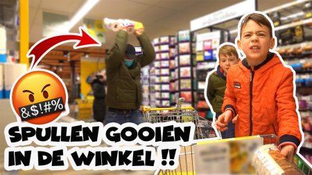 De Bakkertjes – Agressief In De Winkel Doen!!! 🤬😡 #490