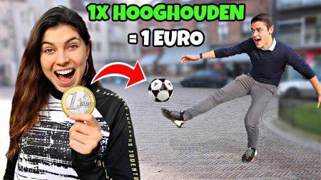 Celine & Michiel – Mensen €1 Geven Voor Elke Keer Dat Ze Kunnen Hooghouden!! #243