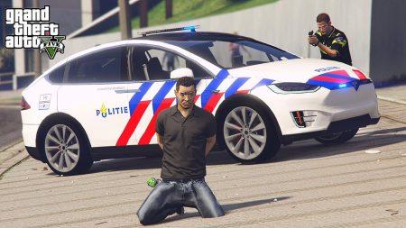 Royalistiq – Politie Patrol In De Tesla Model X! – Nederlandse Politie #90 (LSPDFR)