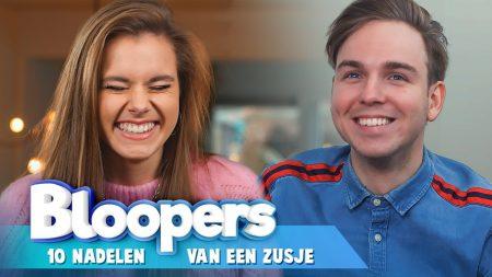 Team Dylan Haegens – Ongeluk Op Set?! – Nadelen Van Een Zusje Bloopers