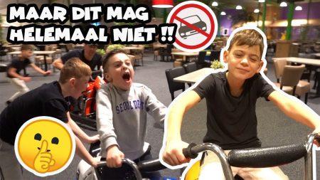 De Bakkertjes  – Racen Door Een Indoor Speeltuin!! #482
