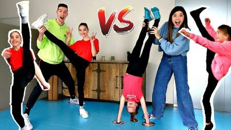 Celine & Michiel – Twin vs Twin Lenigheid Challenge! *CEMI vs Tweeling* #235