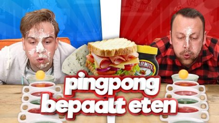 Team Dylan Haegens – Pingpong Bepaalt Ons Eten!