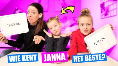 De Zoete Zusjes – Wie Kent Janna Het Beste? Saar Of Mama?!