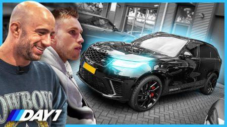JayJay Boske DAY1 – Nicky Romero Zijn Nieuwe Range Rover – De Auto Van Nicky Romero