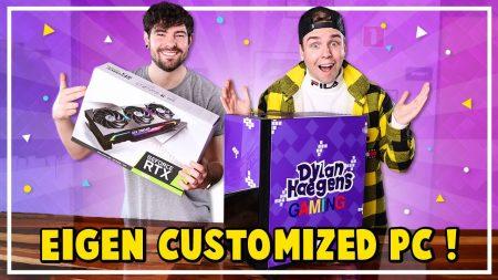 Dylan Haegens Gaming – Eigen Customized PC Bouwen!
