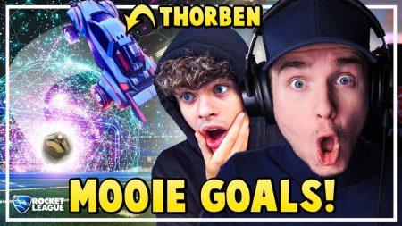 Dylan Haegens Gaming – Mooie Goals In Rocket Leugue! – Met Thorben