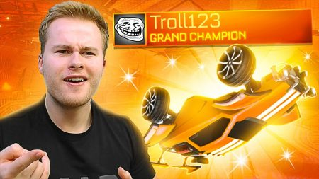 Royalistiq – Spelen Tegen Een Grand Champ Troll.. 😂 – Rocket League Ranked