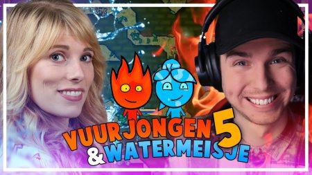 Dylan Haegens Gaming – Vuurjongen En Watermeisje #5 – Met Marit