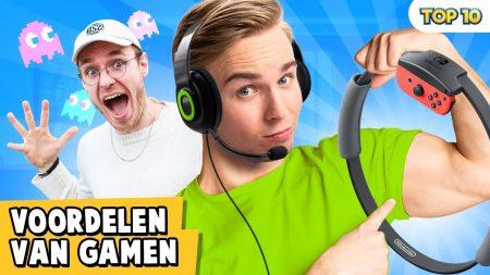 Dylan Haegens – 10 Voordelen Van Gamen!