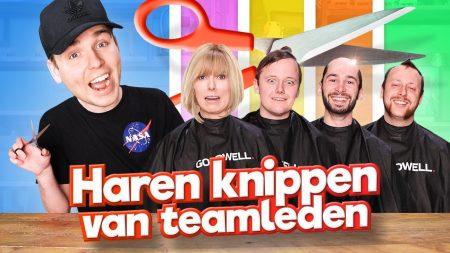 Team Dylan Haegens – Haren Knippen Van Teamleden!