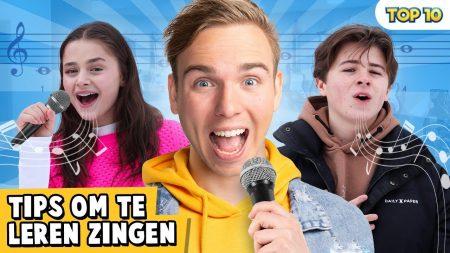 Dylan Haegens – 10 Tips Om Te Leren Zingen!