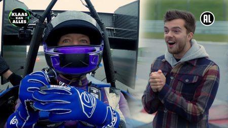 Klaas Kan Alles – Te Veel Risico Genomen! 🏎 – Kan Klaas Buddy Vedder Verslaan Met Een Elektrische Raceauto?