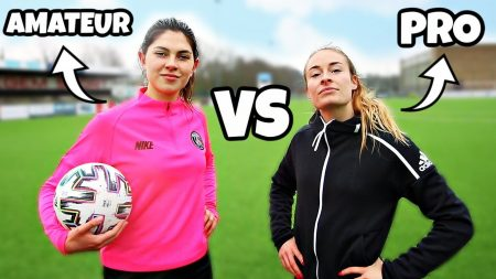 Celine & Michiel – Celine Dept vs Tessa Wullaert – Voetbal Challenge!! #280