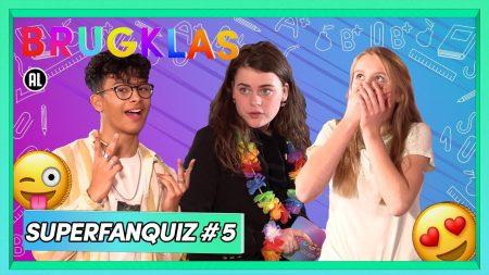 Brugklas – S9 – 'Ik Lijk Wel Een Clown 🤡' – Superfanquiz #5