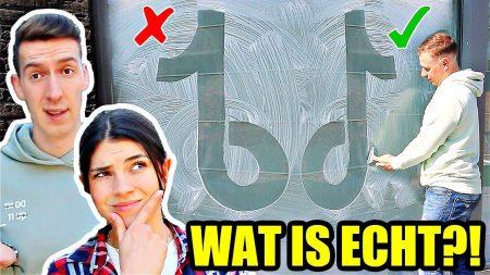 Celine & Michiel – Echt vs Nep Logo Challenge Met Bekende TikTokker! #281