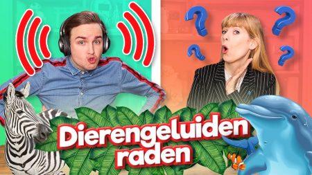 Team Dylan Haegens – Dierengeluiden Raden!