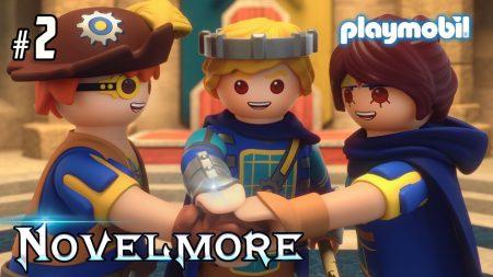 Playmobil – Novelmore Serie – Uitvinder, Prins, Krijger, Meer Spionnen (Aflevering 2)