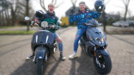 UberQuin – Enzo Uitdagen Voor Een Scooter Race!