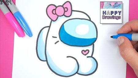 Hoe Teken Je – Een Hello Kitty Among Us