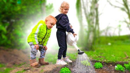 Enzo Knol – Moestuintje Maken Met De Kinderen 🌱 #2801