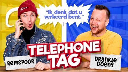 Team Dylan Haegens – Random Mensen Bellen! – Telephone Tag