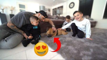 Familie Lakap – We Hebben Een Nieuw Hondje Gehaald 🐶 *Kids Verrassen* #553