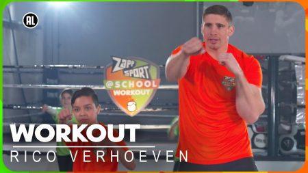 Zappsport – Zappsport@School Workout Met Rico Verhoeven Voor De Koningsspelen