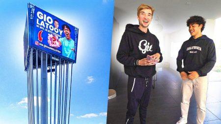 Gio – Hij Heeft Een Mega Billboard Gekocht Speciaal Om Mij Dit Cadeau Te Geven! 😨💰